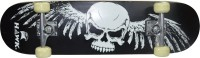 Hawk Skull 8 Inch X 31 Inch Skateboard (Black, Pack Of 1)