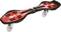JJ Jonex Cool Snake Board 9 Inch X 34.5 Inch Skateboard (Red, Black, Pack Of 1)