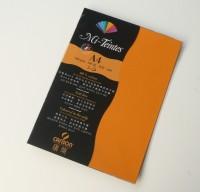 Canson Mi-Teintes A4 Colour Sheets 160gsm - Cadmium Yellow 553 Sketch Pad (Cadmium Yellow, 5 Sheets)