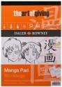 Daler-Rowney AOG Manga A4 Sketch Pad - White, 50 Sheets