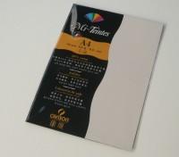 Canson Mi-Teintes A4 Colour Sheets 160gsm - Eggshell 112 Sketch Pad (Eggshell, 5 Sheets)