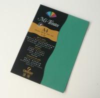 Canson Mi-Teintes A4 Colour Sheets 160gsm - Viridian 575 Sketch Pad (Viridian, 5 Sheets)