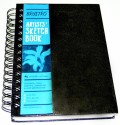 Brustro Artists Sketch Pad - Black, 120 Sheets - SPDDTUZM7NXPDDYU