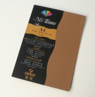 Canson Mi-Teintes A4 Colour Sheets 160gsm - Bisque 502 Sketch Pad (Bisque, 5 Sheets)