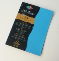 Canson Mi-Teintes A4 Colour Sheets 160gsm - Turquoise Blue 595 Sketch Pad (Turquoise Blue, 5 Sheets)