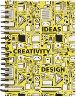 SMG HUT Sketchbook Ideas,creativity & Design Sketch Pad (Multicolor, 65 Sheets)
