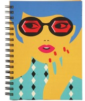 SMG HUT Sketchbook Bae Sketch Pad (Multicolor, 65 Sheets)