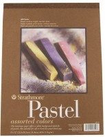 Strathmore Pastel Pad A4 Sketch Pad (Multicolor, 24 Sheets)