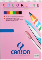 CANSON 150 GSM Multipurpose Art & Craft Colored Paper, 29.7 X 42cm , 12 Sheets- Sketch Pad (Multicolor, 12 Sheets)