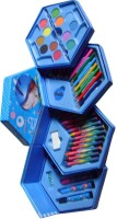 TYS Hexagon 46pcs Color Set Nib Sketch Pens (Set Of 46, 46pcs)