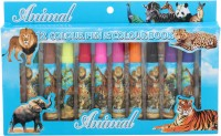 Priya Exports Animal Fine Nib Sketch Pens (Set Of 1, Blue)