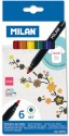 Milan Spain Sketch Pen With Washable Ink - Multicolor