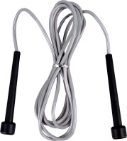 B Fit Usa PVC Jump Rope Skipping Rope (Grey)