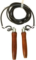 Sahni Sports Pro Pvc Jump Speed Skipping Rope (Brown, Black, Pack Of 1)