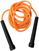 Sahni Sports Slim Handle Speed Skipping Rope (Black, Orange, Pack Of 1)