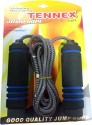Tennex T-004 Freestyle Skipping Rope - Black, Blue, Pack Of 1