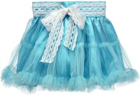 Peaches Solid Girl's Layered Skirt - SKIDWTH7ZBXKVNG3