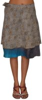 Pezzava Printed Women's Wrap Around Skirt - SKIE2BBQPMGEZ3MQ