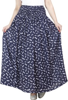 H&F Printed Women's Regular Skirt
