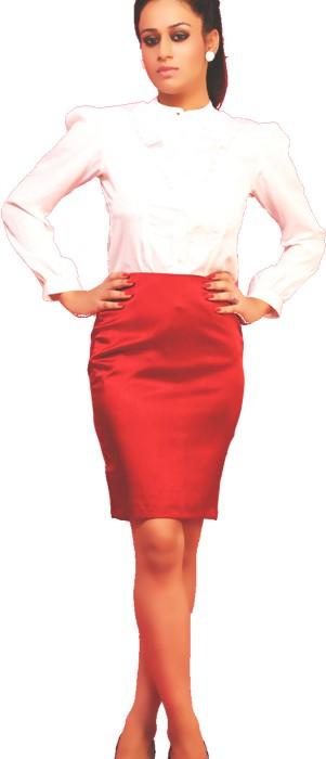 Schwof Solid Women's Pencil Skirt