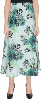 Lemon Chillo Floral Print Women's A-line Skirt
