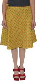 Pezzava Self Design Women's Wrap Around Skirt