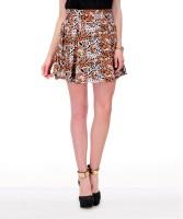 Yepme Animal Print Women's A-line Skirt