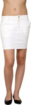 Pankhuri For Women Solid Women's Tube Skirt