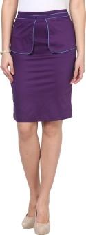 Kaaryah Solid Women's Pencil Skirt