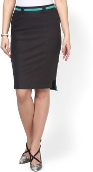 Kaaryah Solid Women's Pencil Skirt - SKIE5YYUHFJMPRPG