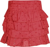 Cherokee Kids Solid Girl's Layered Skirt - SKIDVMZFPSZRGBJ3