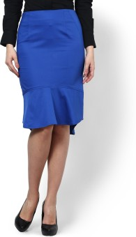 Kaaryah Solid Women's Pencil Skirt - SKIE5H99ZFSEHGJ2