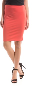 Prym Solid Women's Regular Skirt