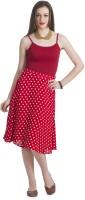 Bohemian You Polka Print Women's A-line Skirt
