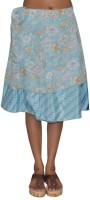 Pezzava Printed Women's Wrap Around Skirt - SKIE2BBZZBHXPDUV