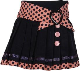Cutecumber Polka Print Girl's A-line Skirt