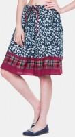 Zovi Printed Women's A-line Skirt