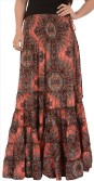 Skirts & ScarvesSkirts & Scarves Printed Women's A-line Skirt