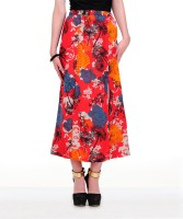 Yepme Floral Print Women's A-line Skirt