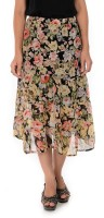 Goodwill Impex Floral Print Women's Midi Skirt
