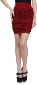 N-Gal Striped Women's Pencil Skirt - SKIE8JXTMDUTVMHG