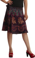 Indi Bargain Animal Print, Floral Print, Printed Women's Wrap Around Skirt - SKIEFHGP7JJC7NJG