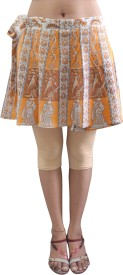Pezzava Printed Women's Wrap Around Skirt