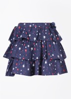 FS Mini Klub Printed Girl's Baby Girl's Layered Skirt - SKIDWTBZCYRBY4ZG