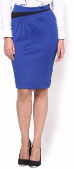 Kaaryah Solid Women's Pencil Skirt