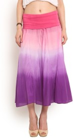 Trend Arrest Solid Women's Gathered Skirt