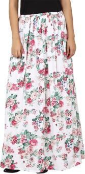 Tops And Tunics Floral Print Women's Regular Skirt