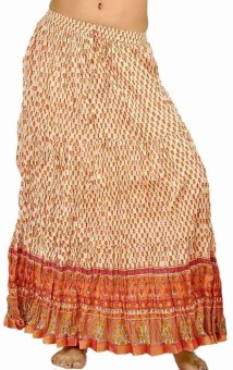 Sunshine Rajasthan Floral Print Women's Regular Skirt - SKIE538EMQRDXQZA