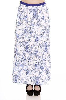 109F Printed Women's Straight Skirt