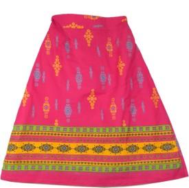 Ssmitn Printed Girl's A-line Skirt